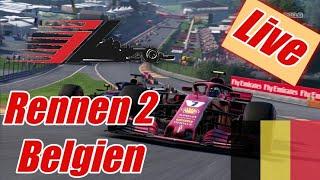 F1 2018 Belgien GP Rennen 2 Live Übertragung eRacing League