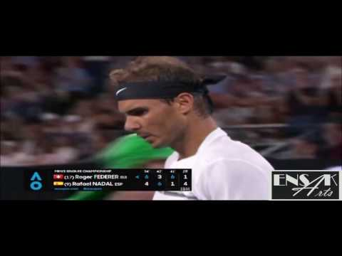 Australian Open 2017 : Rafael Nadal's tribute by Ensak Arts Club