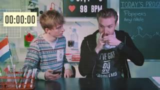Bastiaan inhales poppers   Drugslab