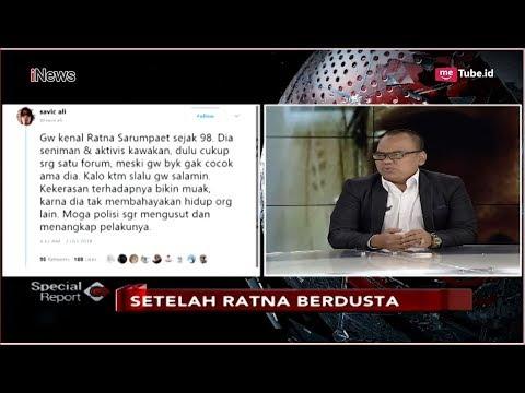 Tanggapi Kasus Hoax Ratna Sarumpaet, Begini Kata Politisi PAN - Spesial Report 04/10