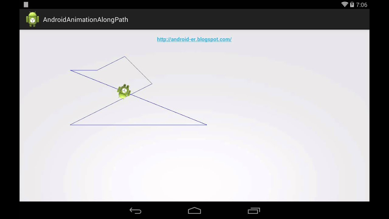 Android-er: Animation of moving bitmap along path