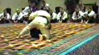 Chuck Norris & Carlos Machado Jiu-Jitsu Sparring/Demo (1991)