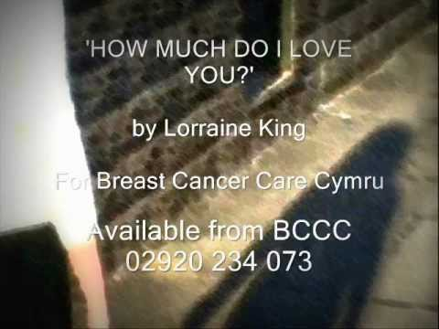 'HOW MUCH DO I LOVE YOU?'  (Written for Breast Cancer Care Cymru, Cardiff Event)