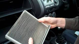 How to change the pollen filter on a Honda Jazz