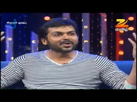 Simply Kushboo - Tamil Talk Show - Episode 3 - Zee Tamil TV Serial - Full Episode