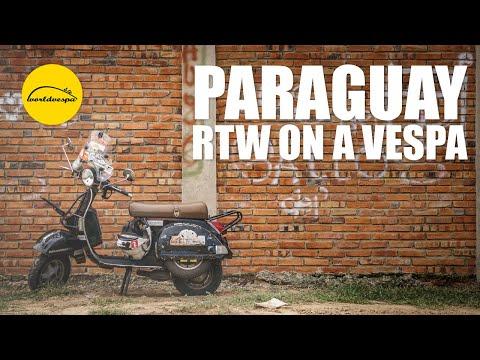 Vespa travel Paraguay