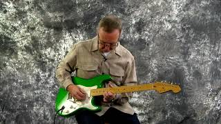 Used Guitar For Sale 1989 Fender Eric Clapton Stratocaster 7 Up Green Lace Sensor Pickups Tweed.mp3