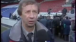 Локомотив Москва 9-0 Уралан. Чемпионат России 2000