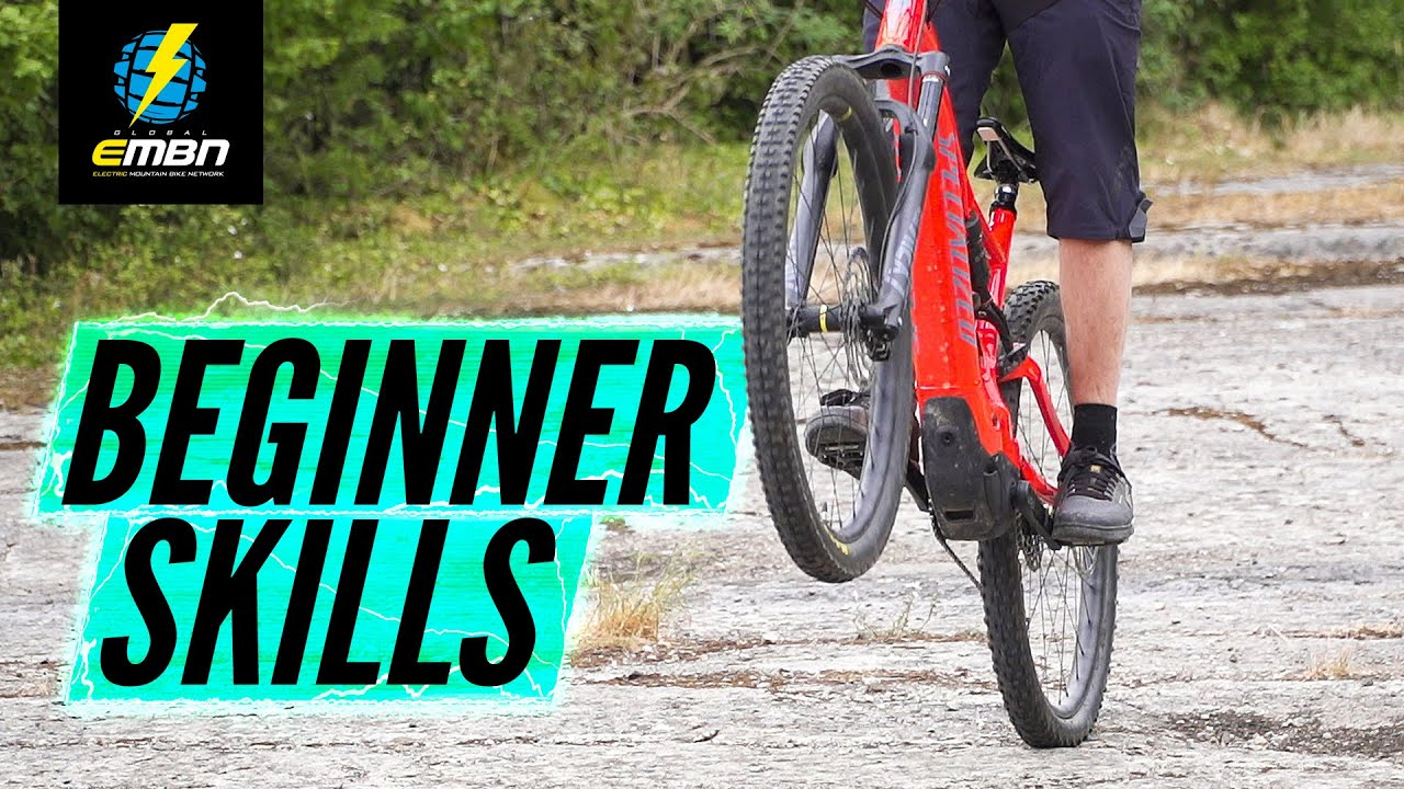 Basic E Bike Skills For Beginners | E Mountain Bike Skills
