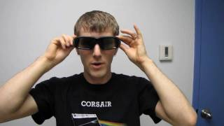 NVIDIA 3D Vision 2 Stereoscopic Gaming Glasses Kit Unboxing & First Look Linus Tech Tips