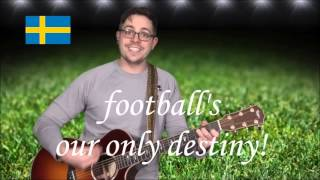 Sverige Ryssland 2018 fotbollsfan tävling sång ♫