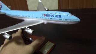 Video 1:250 Korean Air B747-400 Model download MP3, 3GP, MP4, WEBM, AVI, FLV Agustus 2018