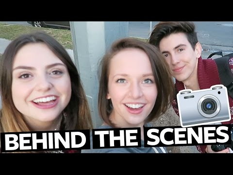 ALEXIS G.  ZALL & AMY:  PHOTOSHOOT BEHIND THE SCENES | Bobby Mares