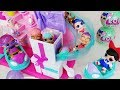 LOL Surprise doll Slide house and Baby doll mart toys car play LOL 서프라이즈 인형 슬라이드 하우스 아기인형 자동차 마트 장난감