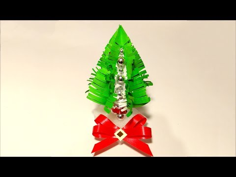 Easy Paper New Year tree! DIY Christmas tree . Ideas for Christmas decoration