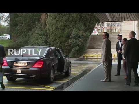 Switzerland: Jaafari and de Mistura arrive for Syrian peace talks in Geneva