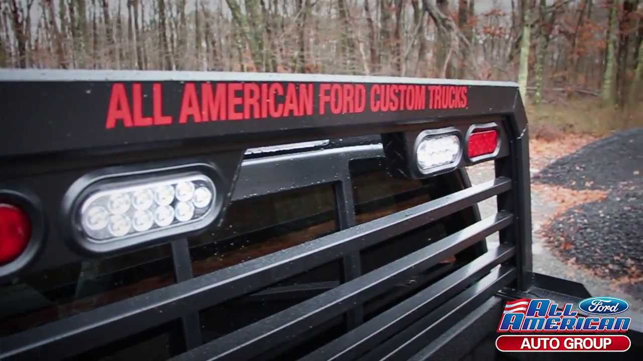 custom ford trucks all american ford in old bridge nj youtube. Black Bedroom Furniture Sets. Home Design Ideas