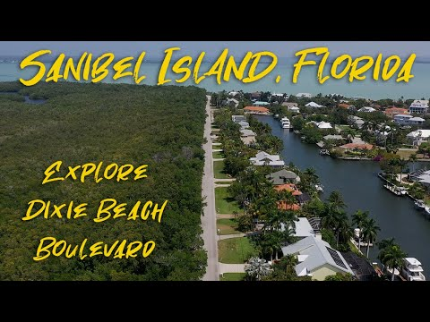 Explore Dixie Beach Boulevard On Sanibel Island, Florida