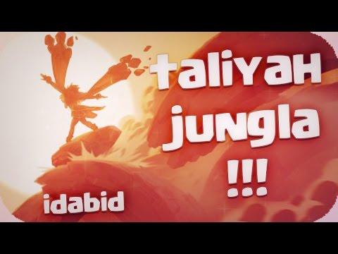 TALIYAH JUNGLA TANQUE 4 VS 5 + MUROS TROLL A LO LOCO LEAGUE OF LEGENDS español