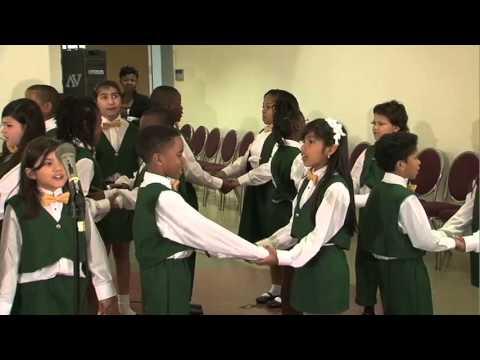 McNamara Elementary School Choir Fine Arts Performance 2012