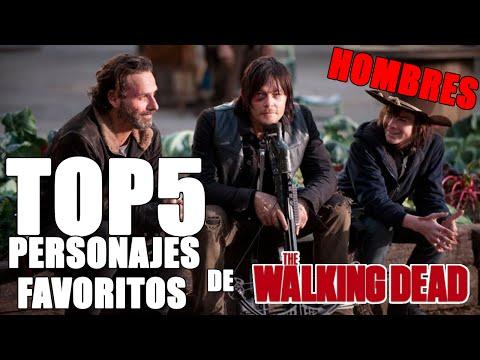 Top 5: Personajes Favoritos De The Walking Dead (Hombres)ᴴᴰ