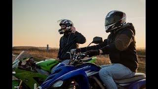 QuadVlog #26 - SUPERMOTO VS. ENDURO! BANDYCI NA MOTOCYKLACH?? - Yamaha Raptor 700