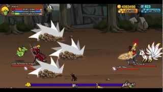 Ninja Saga - Tamadama Dragon Pet And All Moves