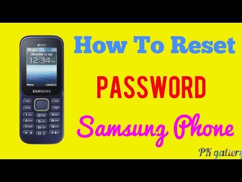 How To Reset Password Samsung Keypad Phone