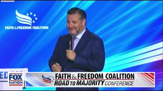 Ted Cruz at the Faith & Freedom Coalition: Road to the Majority Conference