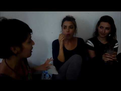Fan Interview with Emily, Jenny and Stella from Warpaint (São Paulo - Brazil - 04/02/2017)
