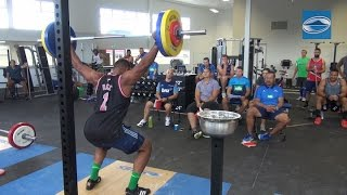 Blues weightlifting comp