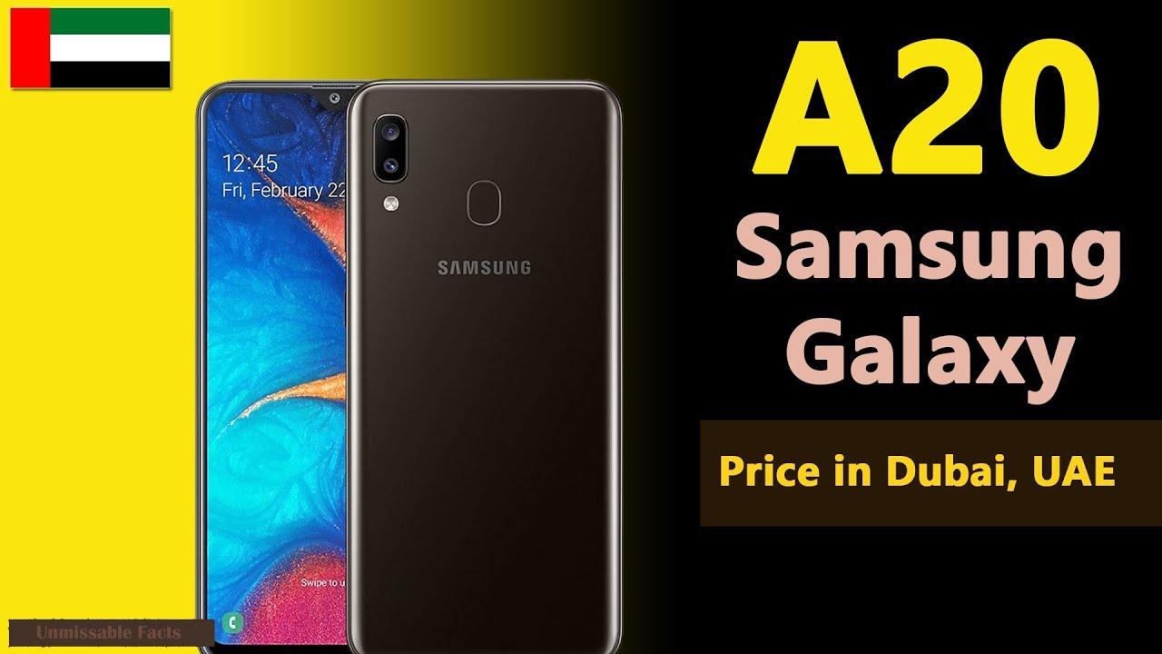 Samsung Galaxy A20 price in Dubai, UAE | A20 specs, price in Dubai, UAE