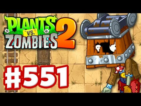Plants Vs. Zombies 2 - Gameplay Walkthrough Part 551 - New Wild West Levels! (iOS)