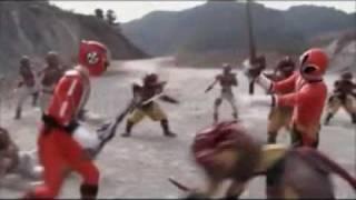 Samurai Sentai Shinkenger - Full Theme Song (Lyrics)