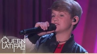 "Rapper MattyB Performs ""True Colors"""