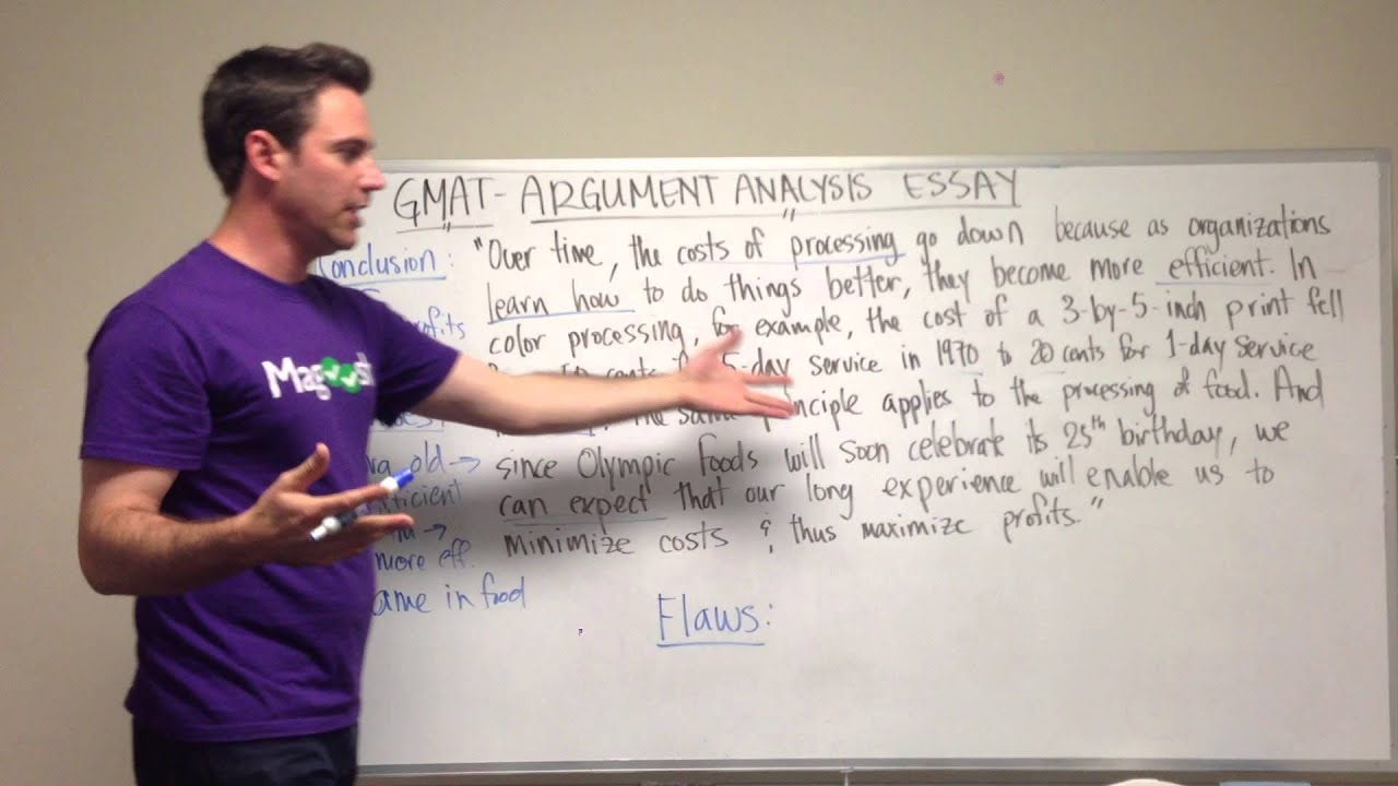 gmat tuesday awa outlining the argument analysis essay