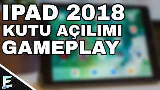 Ipad 2018 game And Box Opening