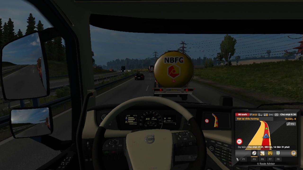 Đời tài xế – HLX ETS2: Vận chuyển hàng được nén áp suất 12 tấn [Volvo FH Globetrotter XL]