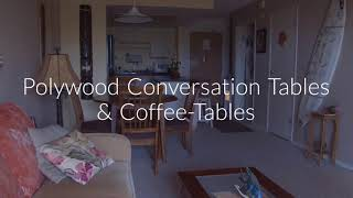 Buy Online Polywood Conversation Tables & Coffee-Tables At Premium Poly Patios