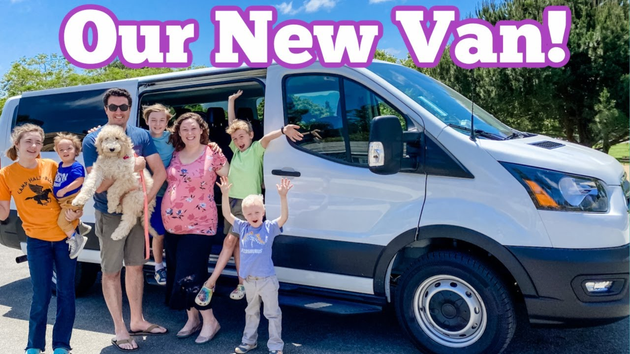 Our New 15 Passenger Van!