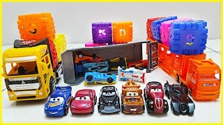 Car Loader Trucks for Kids | Surprise Box Car Toys | Disney Pixer Lightning Mcqueen Cars Toys