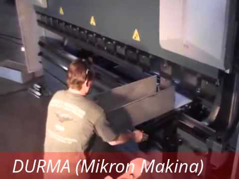 DURMA ( Mikron Makina ) Kutu Bükümü
