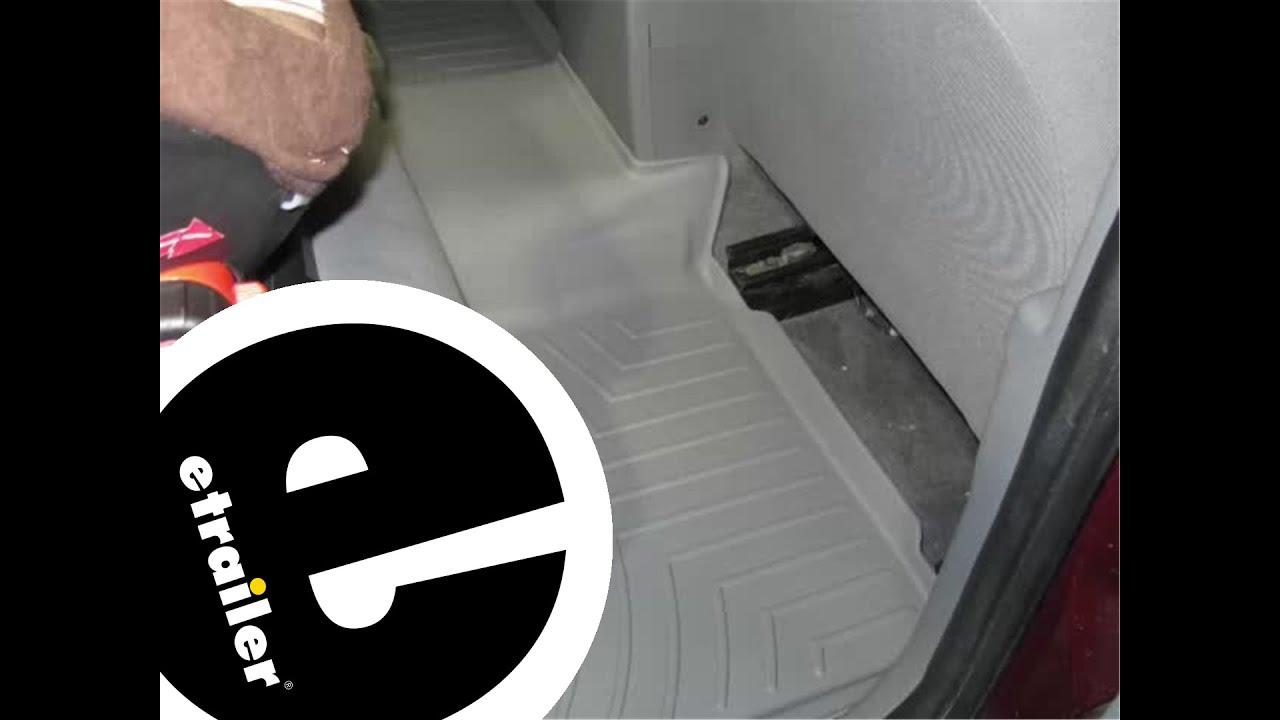 Floor mats jeep cherokee 2015 - Review Of A Weathertech Rear Floor Liner On A 2007 Jeep Grand Cherokee Etrailer Com