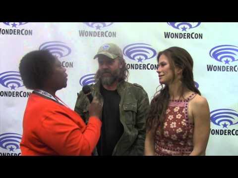 Geektalk: Rhona Mitra & John Pyper-Ferguson talk TNT the Last Ship Wondercon 2015