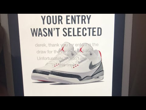 72c1ad4341b0 TAKING L s ON AIR JORDAN III TINKERS!!!! WERE YOU ABLE TO COP ...