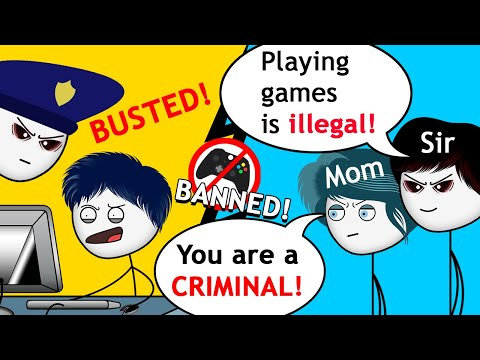 What if all the Video Games were Banned