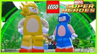 LEGO Marvel Super Heroes #99 SUPER SONIC MOD Português
