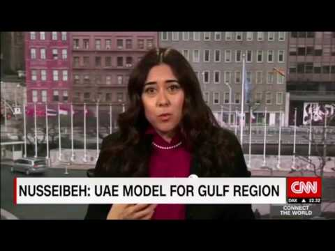 H.E. Lana Nusseibeh In Conversation With Becky Anderson From CNN On IWD 2017