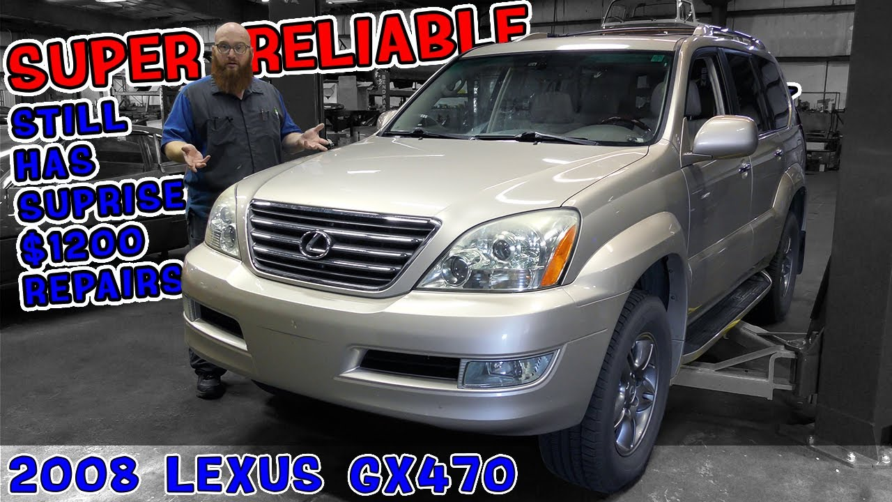 Reliable cars get surprise bills too. Simple oil change on '08 Lexus GX470 turns into $1200 repair