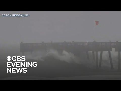 Hurricane Sally targets Gulf Coast with life-threatening floods